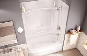 built in bathtub shower combination rectangular acrylic built in bathtub shower combination rectangular acrylic essence ts 6032 maax