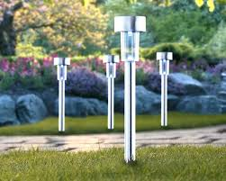 Solar Patio Lighting Ideas by Solar Landscape Lighting Kits With Patio Lights Nice Outdoor