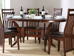 Modern Wood Dining Room Table Awesome Oval Design For Wood Dining Room Table 4 Home Ideas At
