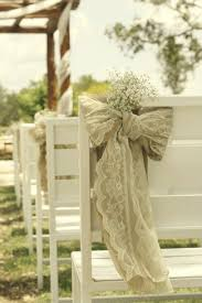 wedding arches decorated with burlap diy baby s breath burlap lace wedding ideas