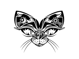 cat tattoo designs free designs cat eyes and ears tattoo