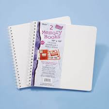 scrapbook albums spiral bound scrapbook albums 10x10 inches 2 pack