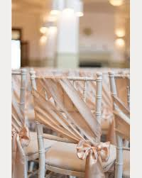 chair bows for weddings 12 beautifully draped fabric wedding chair ideas mon cheri bridals