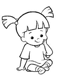 monsters inc coloring pages boo monsters inc coloring page monsters inc coloring book together with