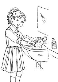 healthy hand washing coloring pages coloring sun