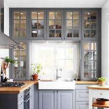 Ikea Kitchen Ideas Pictures Cupboards Around The Window Frame Making The Most Of Dead Space