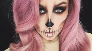 halloween makeup tutorial easy easy skull makeup tutorial chrisspy youtube