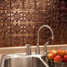 tin tile back splash copper backsplashes for kitchens kitchen with copper tin faux backsplash kitchen faux backsplashes