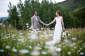 colorado weddings relaxed in the mountains colorado weddings magazine