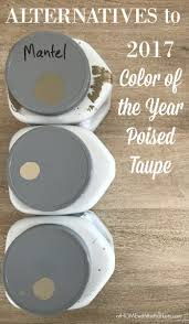 Neutral Alternatives To Beige Diy by Alternatives To 2017 Color Of The Year Poised Taupe At Home With
