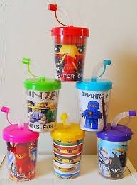 favor cups ninjago personalized birthday party favor treat cups party