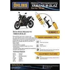 ohlins rear suspension ya559