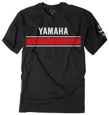 retro motocross gear factory effex yamaha retro t shirt revzilla