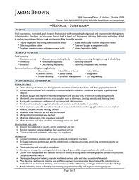 Sample Resume For Restaurant Manager by Restaurant Manager Skills Resume Resume For Your Job Application