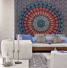 indian elephant mandala tapestry hippie wall hanging tapestries