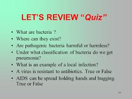 1 infection control are you safe from the spread of bacteria