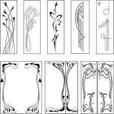 pattern clip art images public domain art nouveau paterns free graphic downloads art