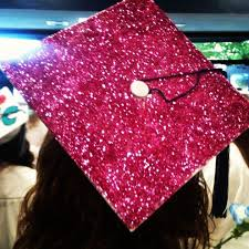 pink graduation cap glittery pink graduation hat 3 why didnt i think of that