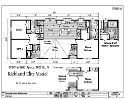 Floor Plans Of Homes Richland Elite Ranch Gf901a Find A Home Commodore Of