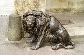 antique bronze lion western design antique bronze lion sculptures with high quality