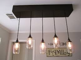 bathroom light fixture with fan lighting mason jar ceiling light bathroom fixture diy chandelier