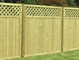 Arch Trellis Fence Panels T U0026g Lattice Top Fence Panel Free Delivery Available Witham Timber