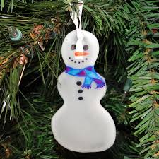 diy glue snowman ornament the eco friendly family