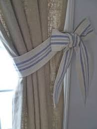 Curtains With Ties Diy Curtain Tie Backs Nursery Gopelling Net