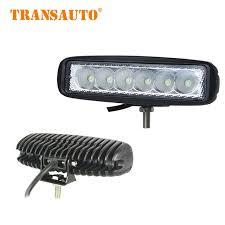 led automotive work light led light bar 2pcs 6inch 18w led bar led work light flood running