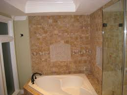 Bathroom Accent Wall Ideas Bathroom Shower Floor Tile Modern Light Grey Wood Accent Wall