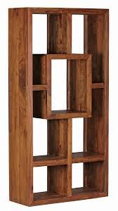 Wohnzimmer Regale Design Finebuy Bücherregal Massiv Holz Sheesham 90 X 180 Cm Wohnzimmer