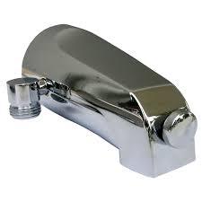 simpatico 82193c bath tub diverter slip fit spout with 1 2 inch simpatico 82193c bath tub diverter slip fit spout with 1 2 inch pipe personal shower outlet fits 1 2 copper tube chrome tub filler faucets amazon com