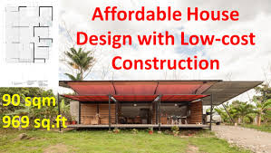 cost of constructing a house appealing affordable house design with low cost construction of does