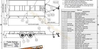 2500kg flatbed tilt trailer trailer plans build your own