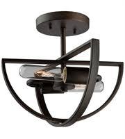 hton bay caffe patina 2 light semi flush mount semi flush rlalighting com