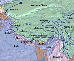 rivers in china map whitewater rafting in tibet and china