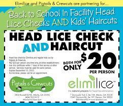 head lice check by elimilice plus haircut by pigtails u0026 crewcuts