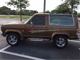 future ford bronco 1985 ford bronco ii 4 x 4 suv for sale classiccars com cc 1040441