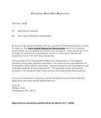 cover letter for scholarship resume badak