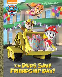 pups save friendship paw patrol golden books