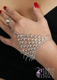 hand make bracelet images Belly dancing rhinestone hand flower bracelet jpg