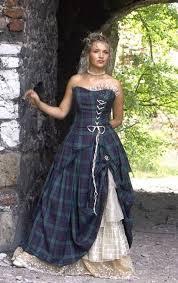 scottish wedding dresses scottish wedding picmia patrones tartan