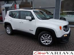jeep renegade silver used jeep renegade longitude 2017 cars for sale motors co uk