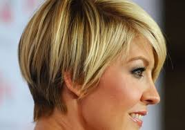 layered wedge haircut for women short layered bob haircut worn side parting displays sweet