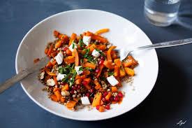 cuisiner les graines de sarrasin salade d automne sarrasin carottes aux épices grenade noisette et