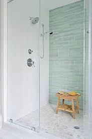glass tile for bathrooms ideas 5 tips for choosing bathroom tile shower systems teak and blue