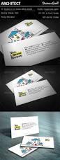 architect business card by fbastudio graphicriver