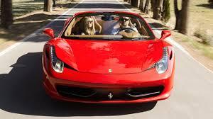 Ferrari 458 Spider - outrun the ferrari 458 spider driven top gear