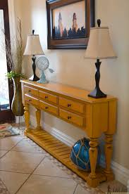 Sofa Table Dimensions Grand Island Console Table Her Tool Belt