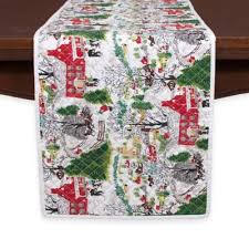 Bed Bath And Beyond Christmas Tablecloths Buy Christmas Table Runners From Bed Bath U0026 Beyond